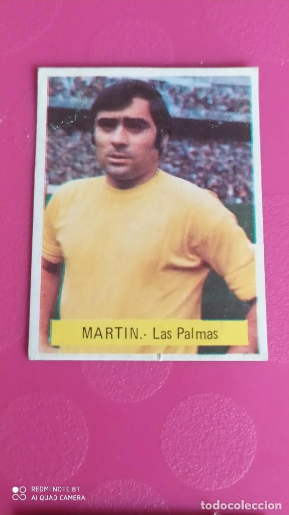 MARTIN LAS PALMAS FINI 75 76 1975 1976 RECUPERADO (Coleccionismo Deportivo - Álbumes y Cromos de Deportes - Cromos de Fútbol)