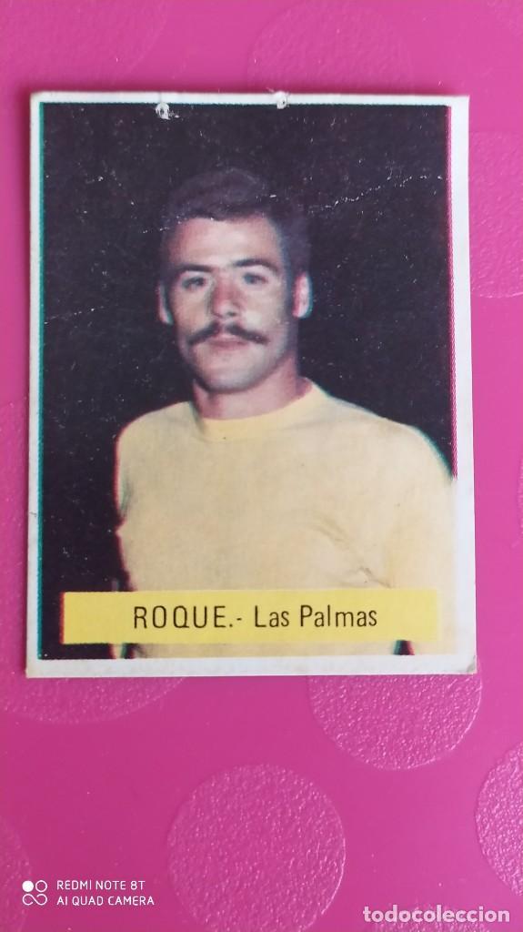 ROQUE LAS PALMAS FINI 75 76 1975 1976 RECUPERADO (Coleccionismo Deportivo - Álbumes y Cromos de Deportes - Cromos de Fútbol)