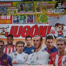Cromos de Fútbol: REVISTA JUGON N°140. PLASTICO ORIGINAL. CON REGALOS. Lote 206190946