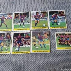 Cromos de Fútbol: LOTE CROMOS F.C. BARCELONA LIGA 81-82 ED ESTE - SIN PEGAR. Lote 206287266