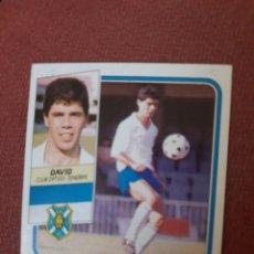 Figurine di Calcio: DAVID TENERIFE ESTE 89 90 1989 1990 DESPEGADO. Lote 206321448