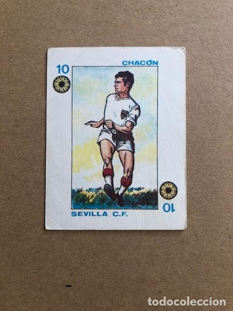 GIGARPE 1971 SEVILLA C.F. CHACON 10 C5 (Coleccionismo Deportivo - Álbumes y Cromos de Deportes - Cromos de Fútbol)