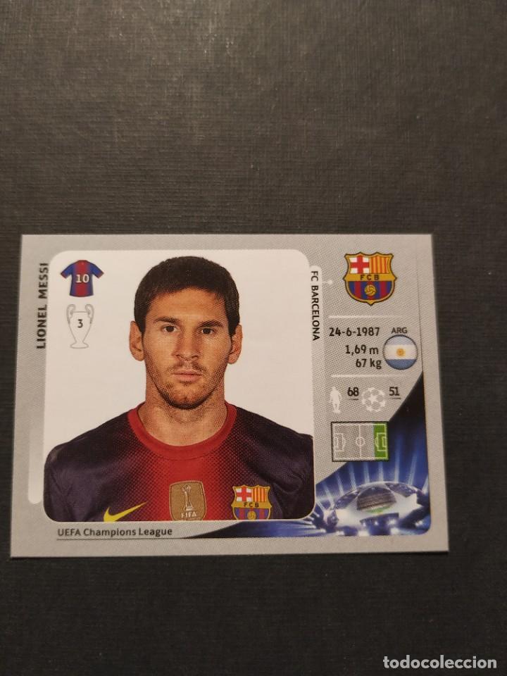 460 LIONEL MESSI F.C. BARCELONA CROMOS ALBUM UEFA CHAMPIONS LEAGUE 2012 2013 (Coleccionismo Deportivo - Álbumes y Cromos de Deportes - Cromos de Fútbol)
