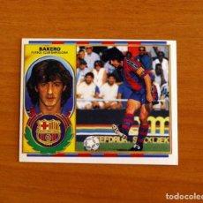 Cromos de Fútbol: FÚTBOL CLUB BARCELONA - BAKERO - EDICIONES ESTE 1996-1997, 96-97 - NUNCA PEGADO. Lote 206446017