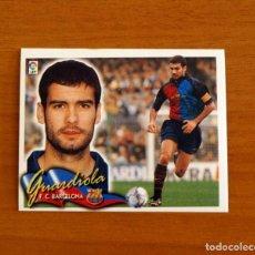 Cromos de Fútbol: FÚTBOL CLUB BARCELONA - GUARDIOLA - EDICIONES ESTE 2000-2001, 00-01 - NUNCA PEGADO. Lote 206446332