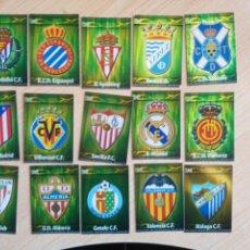 Cromos de Fútbol: MUNDICROMO 2009-10 15 ESCUDOS. Lote 206529148