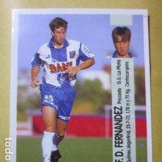 Cromos de Futebol: 56A FERNANDEZ ESPANYOL LIGA 96 97 1996 1997 PANINI CROMO RECUPERADO MIRAR FOTOGRAFIAS. Lote 206550148