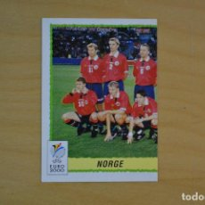 Cartes à collectionner de Football: PANINI EURO 2000 - 234-ALINEACION NORUEGA. Lote 206565982