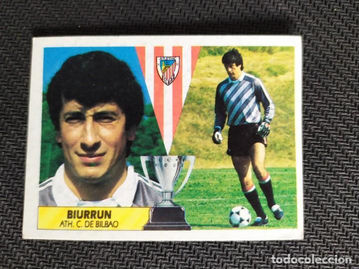 LIGA ESTE 1987 1988 / 87 88 BIURRUN (ATHLETIC DE BILBAO) NUNCA PEGADO (SIN PEGAR) (Coleccionismo Deportivo - Álbumes y Cromos de Deportes - Cromos de Fútbol)