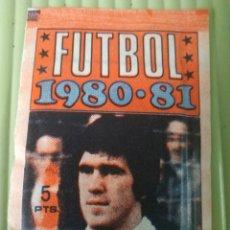 Cromos de Fútbol: SOBRECITO SIN ABRIR FHER FUTBOL 1980-81. Lote 206601503