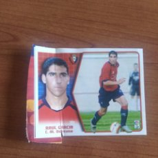 Cromos de Fútbol: RAÚL GARCÍA COLOCA OSASUNA 05 06 ESTE EN VENTANILLA VER FOTOS. Lote 206602970