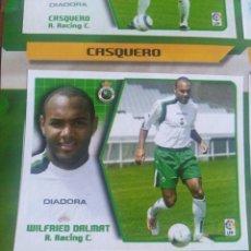 Cromos de Fútbol: WILFRED DALMAT RACING 05 06 RECORTADO DEL ÁLBUM VER FOTOS. Lote 206603520