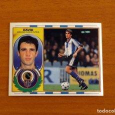 Cromos de Fútbol: HÉRCULES - DAVID - BAJA - EDICIONES ESTE 1996-1997, 96-97 - NUNCA PEGADO. Lote 206787220