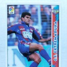 Cromos de Fútbol: 331 JUANITO - C.F. EXTREMADURA - MUNDICROMO 98/99. Lote 206787250