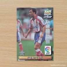 Cromos de Fútbol: 425 SUPERSTAR PANTIC / SIMEONE ATLETICO DE MADRID MUNDICROMO FICHA LIGA 96 97 1996 1997. Lote 206787253