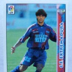 Cromos de Fútbol: 332 BELENGUER - C.F. EXTREMADURA - MUNDICROMO 98/99. Lote 206787391