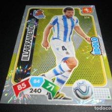 Cromos de Fútbol: 376 ILLARRAMENDI IDOLO REAL SOCIEDAD CARDS ADRENALYN XL LIGA FUTBOL 2019 2020 19 20 PANINI. Lote 206787491
