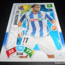 Cromos de Fútbol: 287 JANUJAJ REAL SOCIEDAD CARDS ADRENALYN XL LIGA FUTBOL 2019 2020 19 20 PANINI. Lote 206787568