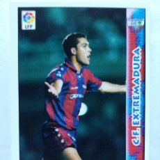 Cromos de Fútbol: 335 TONI VELAMAZÁN - C.F. EXTREMADURA - MUNDICROMO 98/99. Lote 206787577