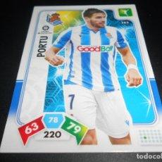 Cromos de Fútbol: 283 PORTU REAL SOCIEDAD CARDS ADRENALYN XL LIGA FUTBOL 2019 2020 19 20 PANINI. Lote 206787827