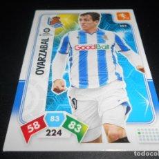 Cromos de Fútbol: 282 OYARZABAL REAL SOCIEDAD CARDS ADRENALYN XL LIGA FUTBOL 2019 2020 19 20 PANINI. Lote 206787875