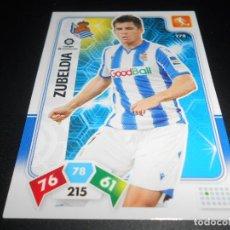 Cromos de Fútbol: 278 ZUBELDIA REAL SOCIEDAD CARDS ADRENALYN XL LIGA FUTBOL 2019 2020 19 20 PANINI. Lote 206788048
