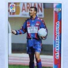 Cromos de Fútbol: 342 RUEDA - C.F. EXTREMADURA - MUNDICROMO 98/99. Lote 206788080