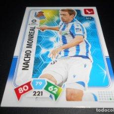 Cromos de Fútbol: 277 NACHO MONREAL REAL SOCIEDAD CARDS ADRENALYN XL LIGA FUTBOL 2019 2020 19 20 PANINI. Lote 206788112