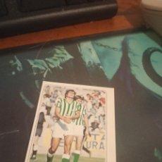 Cromos de Fútbol: BISCA REAL BETIS ED PACOSA 2 - 77 78 CROMO FUTBOL LIGA 1977 1978 - DESPEGADO - 750. Lote 206788448