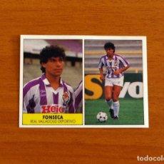 Cromos de Fútbol: VALLADOLID - FONSECA - EDICIONES FESTIVAL 1987-1988, 87-88 - NUNCA PEGADO. Lote 206795800