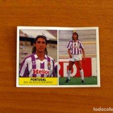 Cromos de Fútbol: VALLADOLID - PORTUGAL - EDICIONES FESTIVAL 1987-1988, 87-88 - NUNCA PEGADO. Lote 206796000
