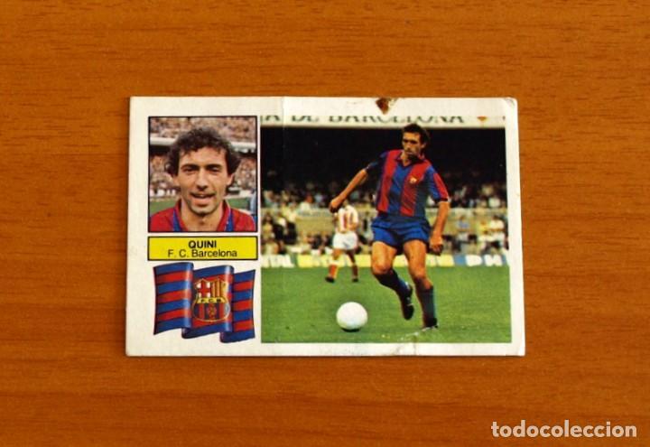 BARCELONA - QUINI - LIGA 1982-1983, 82-83 - EDICIONES ESTE (Coleccionismo Deportivo - Álbumes y Cromos de Deportes - Cromos de Fútbol)