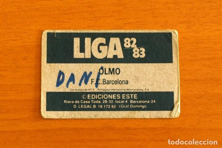Cromos de Fútbol: Barcelona - Olmo - Liga 1982-1983, 82-83 - Ediciones Este - Foto 2 - 206797886