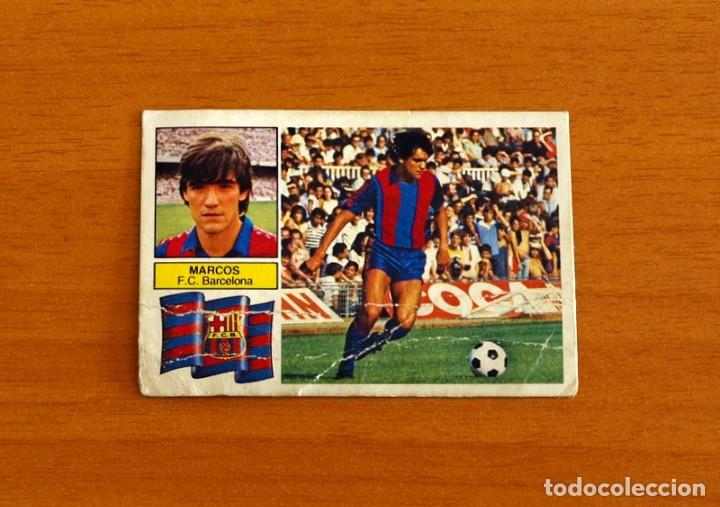 FÚTBOL CLUB BARCELONA - MARCOS - EDICIONES ESTE 1982-1983, 82-83 (Coleccionismo Deportivo - Álbumes y Cromos de Deportes - Cromos de Fútbol)