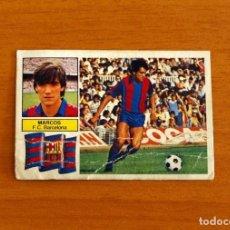 Cromos de Fútbol: FÚTBOL CLUB BARCELONA - MARCOS - EDICIONES ESTE 1982-1983, 82-83. Lote 206798397