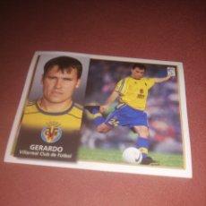 Cromos de Fútbol: GERARDO 98-99. FICHAJE 18 SIN PEGAR.. Lote 206805096