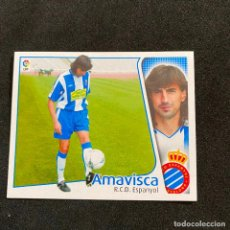 Cromos de Fútbol: CROMO LIGA 2004-2005 ESTE, COLOCA AMAVISCA R.C.D ESPANYOL NUNCA PEGADO NUEVO SIN USAR. Lote 206809767