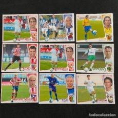 Cromos de Fútbol: CROMOS COLOCAS EDICIONES ESTE LIGA 2004 2005 JORDI LOPEZ PEDRO LOPEZ GASPAR CASAS VITALI PEÑA SOSA. Lote 33038118