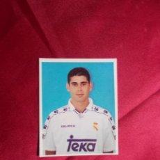 Cromos de Fútbol: CROMO Nº 156. FERNANDO HIERRO. REAL MADRID. MAGIC BOX 1994-1995. NUNCA PEGADO. Lote 206838013