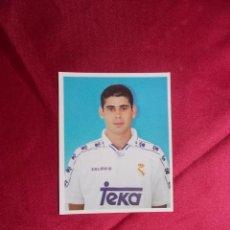 Cromos de Fútbol: CROMO Nº 156. FERNANDO HIERRO. REAL MADRID. MAGIC BOX 1994-1995. NUNCA PEGADO. Lote 206838045