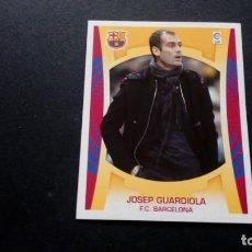 Cromos de Fútbol: GUARDIOLA ENTRENADOR BARCELONA SIN PEGAR PANINI EDICIONES ESTE LIGA 2009 2010 09 10. Lote 207042251
