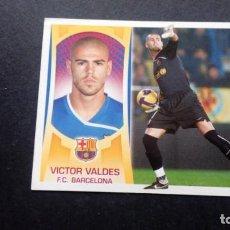 Cromos de Fútbol: 1 VICTOR VALDES BARCELONA SIN PEGAR PANINI EDICIONES ESTE LIGA 2009 2010 09 10. Lote 207042258