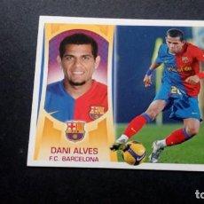 Cromos de Fútbol: 3 DANI ALVES BARCELONA SIN PEGAR PANINI EDICIONES ESTE LIGA 2009 2010 09 10. Lote 207042276