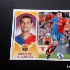 Cromos de Fútbol: 4A MARQUEZ BARCELONA SIN PEGAR PANINI EDICIONES ESTE LIGA 2009 2010 09 10. Lote 207042278