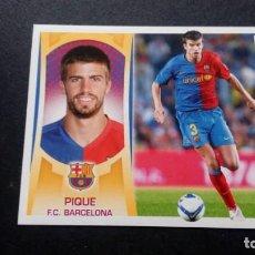 Cromos de Fútbol: 6 PIQUE BARCELONA SIN PEGAR PANINI EDICIONES ESTE LIGA 2009 2010 09 10. Lote 207042285