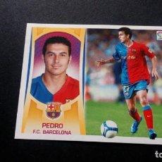 Cromos de Fútbol: 16B PEDRO BARCELONA SIN PEGAR PANINI EDICIONES ESTE LIGA 2009 2010 09 10. Lote 207042312
