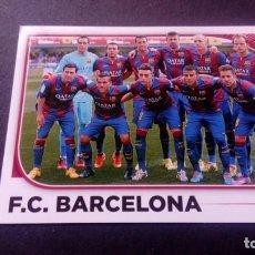 Cromos de Fútbol: 21 EQUIPO ALINEACION BARCELONA SIN PEGAR PANINI EDICIONES ESTE LIGA 2014 2015 14 15. Lote 207043463