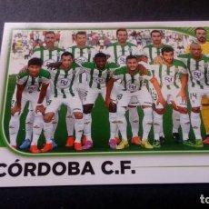 Cromos de Fútbol: 21 EQUIPO ALINEACION CORDOBA SIN PEGAR PANINI EDICIONES ESTE LIGA 2014 2015 14 15. Lote 207043470