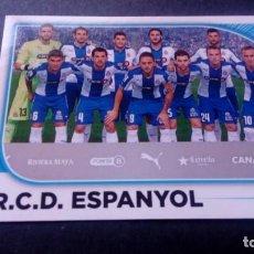 Cromos de Fútbol: 21 EQUIPO ALINEACION ESPANYOL ESPAÑOL SIN PEGAR PANINI EDICIONES ESTE LIGA 2014 2015 14 15. Lote 207043476