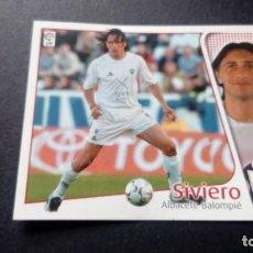 Cromos de Fútbol: SIVIERO ALBACETE SIN PEGAR PANINI EDICIONES ESTE LIGA TEMPORADA 2004 2005 04 05. Lote 207043671